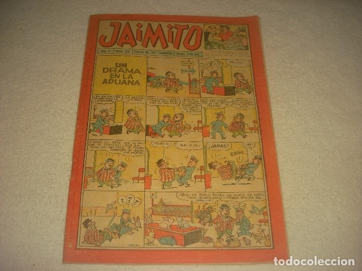 JAIMITO N. 312 , AÑO X (Tebeos y Comics - Valenciana - Jaimito)