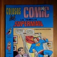 Tebeos: COLOSOS DEL COMIC - LA FAMILIA SUPERMAN - LOS MERCADERES DE LA MUERTE - Nº 6 - . Lote 182730000