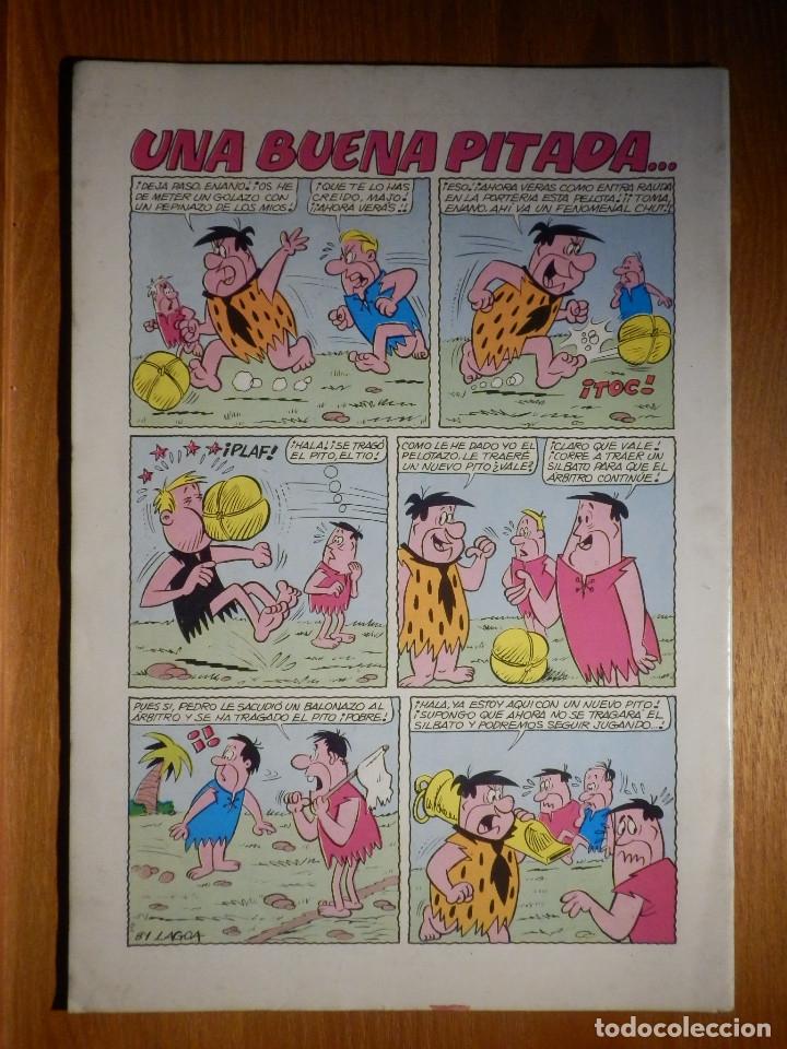 Tebeos: Comic - El Maravilloso Mundo de Hanna-Barbera - Los PicaPiedra Nº 25 - Valenciana - - Foto 2 - 182733035