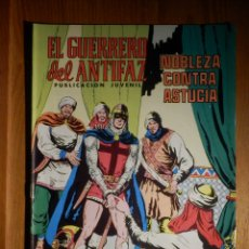Tebeos: COMIC - EL GUERRERO DEL ANTIFAZ - NOBLEZA CONTRA ASTUCIA - Nº 252 - VALENCIANA 1976. Lote 182734473