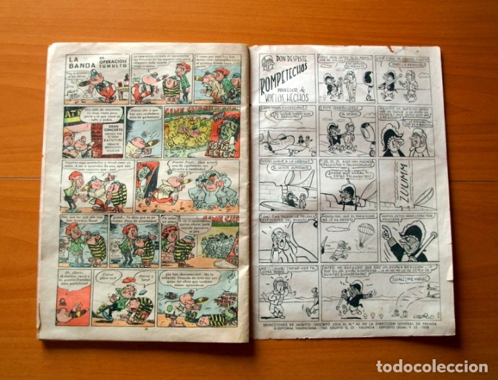 Tebeos: Selecciones de Jaimito, nº 36, Por abusón - Editorial Valenciana 1957 - Foto 4 - 182823493