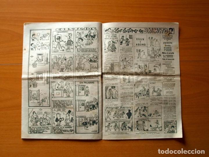 Tebeos: Jaimito, nº 528, El Elefante herido - Editorial Valenciana 1945 - Foto 4 - 182824323