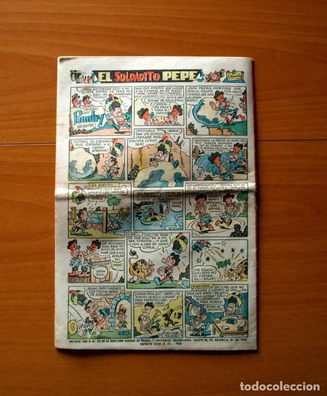Tebeos: Jaimito, nº 528, El Elefante herido - Editorial Valenciana 1945 - Foto 5 - 182824323