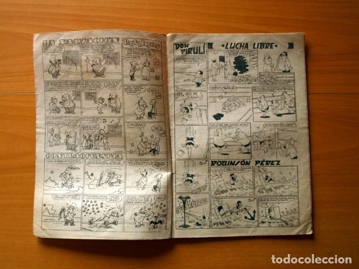 Tebeos: Jaimito, nº 392, Ingenioso transporte - Editorial Valenciana 1945 - Foto 2 - 182824462