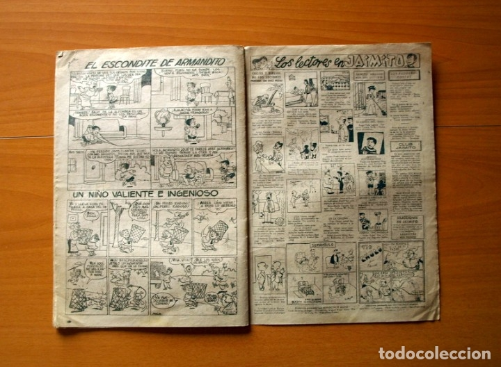 Tebeos: Jaimito, nº 392, Ingenioso transporte - Editorial Valenciana 1945 - Foto 4 - 182824462