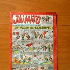 Tebeos: JAIMITO, Nº 519, UN PERRO INTELIGENTE - EDITORIAL VALENCIANA 1945. Lote 182824523