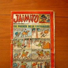 Tebeos: JAIMITO, Nº 518, LA FUERZA DE LA COSTUMBRE - EDITORIAL VALENCIANA 1945. Lote 182824582