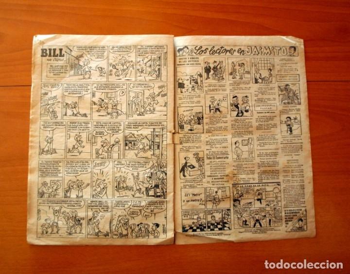 Tebeos: Jaimito, nº 518, La fuerza de la costumbre - Editorial Valenciana 1945 - Foto 4 - 182824582