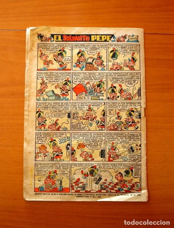 Tebeos: Jaimito, nº 518, La fuerza de la costumbre - Editorial Valenciana 1945 - Foto 5 - 182824582