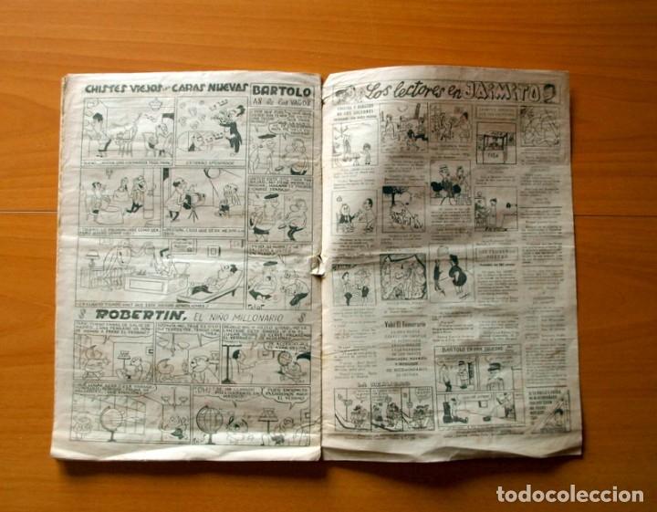 Tebeos: Jaimito, nº 517, Foto comprometedora - Editorial Valenciana 1945 - Foto 4 - 182824687