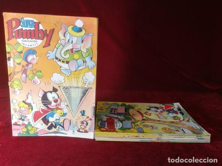 LOTE 9 NÚMEROS SUPER PUMBY VALENCIANA ESTADO DE KIOSKO (Tebeos y Comics - Valenciana - Pumby)