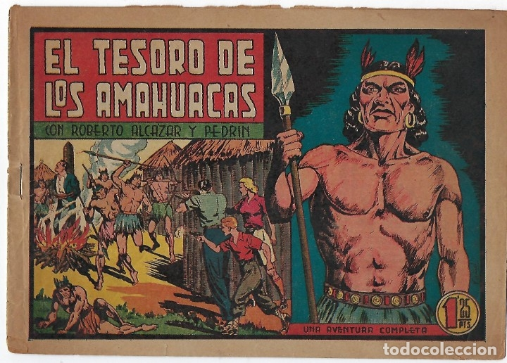 Tebeos: LOTE ROBERTO ALCÁZAR Y PEDRIN - 16 NÚMEROS ** EDITORIAL VALENCIANA 1941 - 1976** - Foto 2 - 182848833