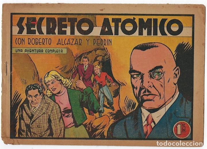 Tebeos: LOTE ROBERTO ALCÁZAR Y PEDRIN - 16 NÚMEROS ** EDITORIAL VALENCIANA 1941 - 1976** - Foto 4 - 182848833
