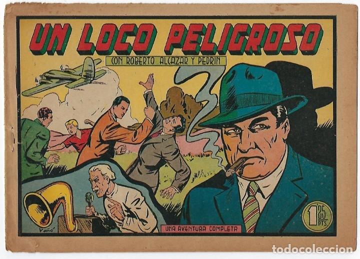 Tebeos: LOTE ROBERTO ALCÁZAR Y PEDRIN - 16 NÚMEROS ** EDITORIAL VALENCIANA 1941 - 1976** - Foto 6 - 182848833