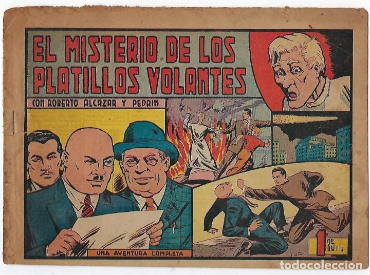 Tebeos: LOTE ROBERTO ALCÁZAR Y PEDRIN - 16 NÚMEROS ** EDITORIAL VALENCIANA 1941 - 1976** - Foto 7 - 182848833