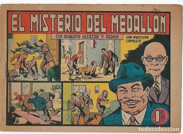 Tebeos: LOTE ROBERTO ALCÁZAR Y PEDRIN - 16 NÚMEROS ** EDITORIAL VALENCIANA 1941 - 1976** - Foto 8 - 182848833