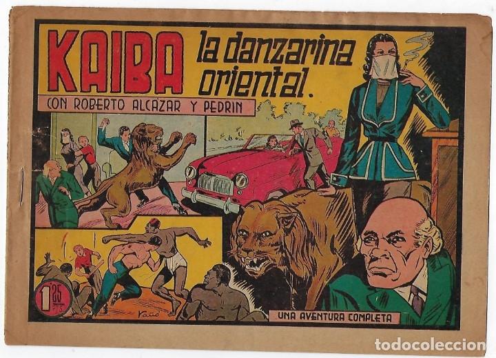 Tebeos: LOTE ROBERTO ALCÁZAR Y PEDRIN - 16 NÚMEROS ** EDITORIAL VALENCIANA 1941 - 1976** - Foto 9 - 182848833