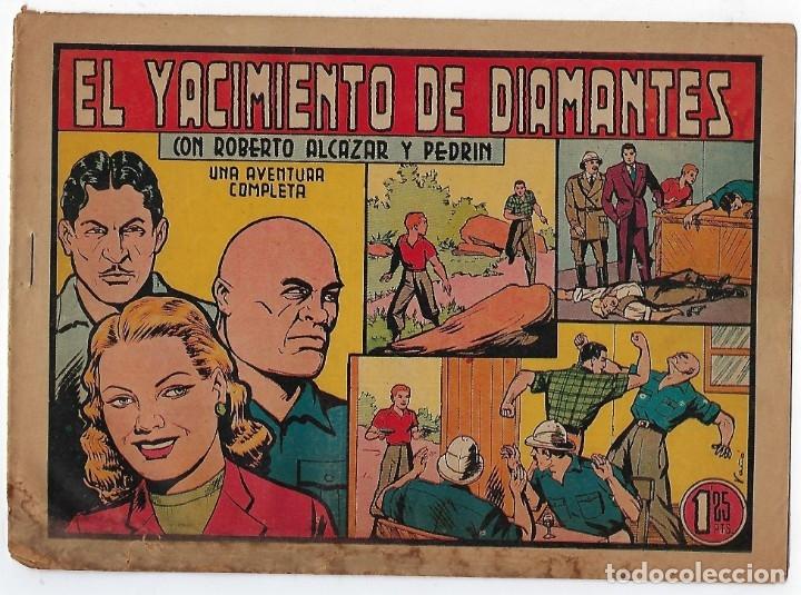 Tebeos: LOTE ROBERTO ALCÁZAR Y PEDRIN - 16 NÚMEROS ** EDITORIAL VALENCIANA 1941 - 1976** - Foto 10 - 182848833