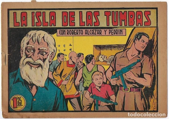 Tebeos: LOTE ROBERTO ALCÁZAR Y PEDRIN - 16 NÚMEROS ** EDITORIAL VALENCIANA 1941 - 1976** - Foto 13 - 182848833