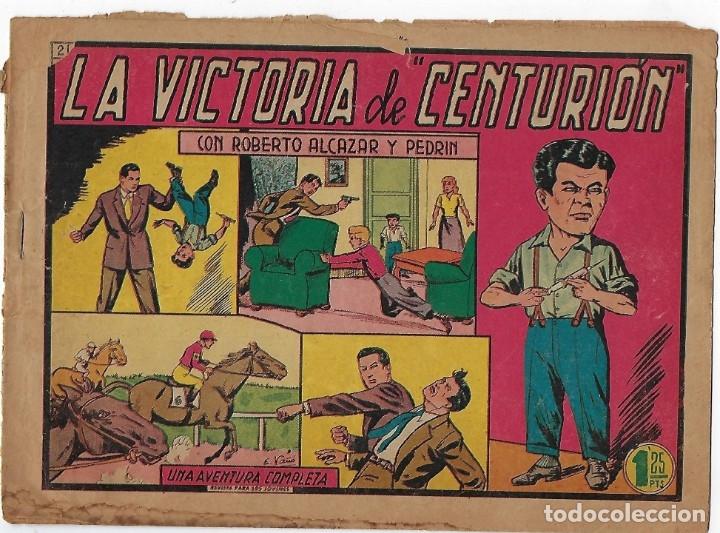 Tebeos: LOTE ROBERTO ALCÁZAR Y PEDRIN - 16 NÚMEROS ** EDITORIAL VALENCIANA 1941 - 1976** - Foto 16 - 182848833