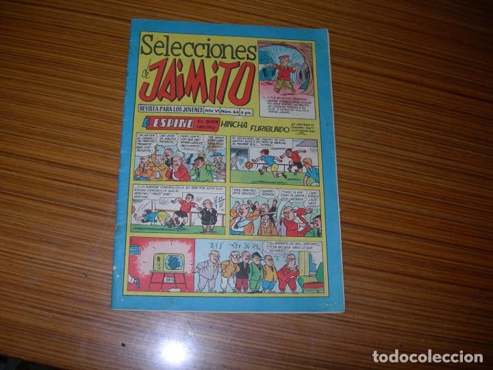 SELECCIONES DE JAIMITO Nº 64 EDITA VALENCIANA (Tebeos y Comics - Valenciana - Jaimito)