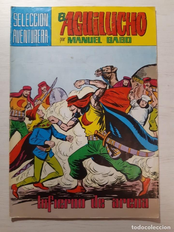 LOTE 23 NÚMEROS EL AGUILUCHO (Tebeos y Comics - Valenciana - Otros)