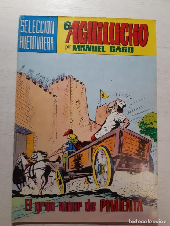 Tebeos: Lote 23 números El Aguilucho - Foto 5 - 182880818