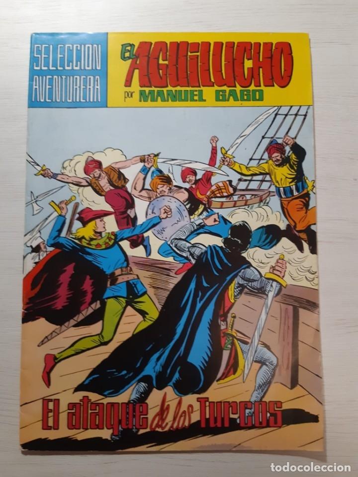 Tebeos: Lote 23 números El Aguilucho - Foto 9 - 182880818