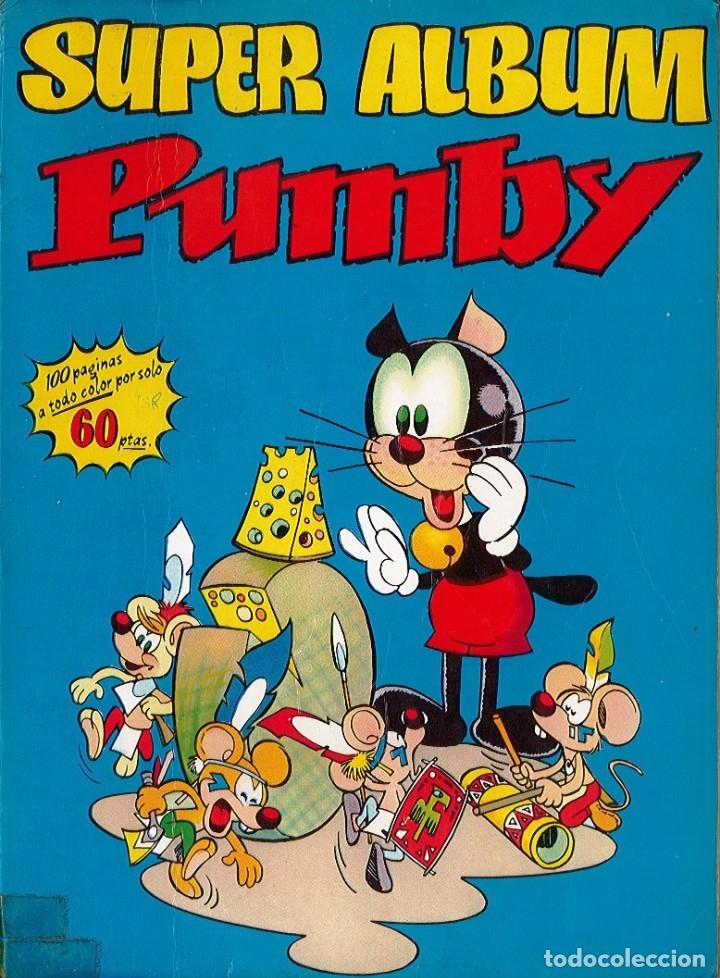 SUPER ALBUM PUMBY 100 PAGINAS A TODO COLOR Nº 3 DEL 1978 (Tebeos y Comics - Valenciana - Pumby)