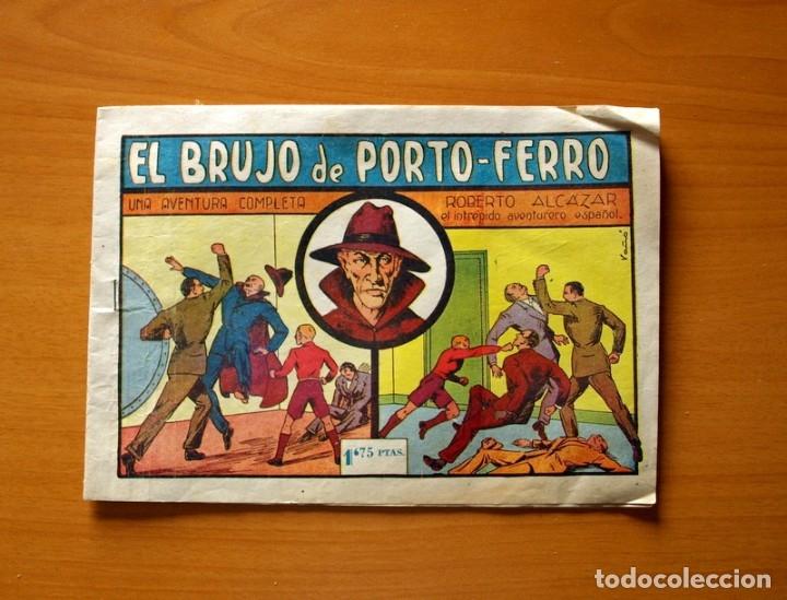 ROBERTO ALCÁZAR Y PEDRÍN - Nº 71, EL BRUJO DE PORTO-FERRO - ORIGINAL EDITORIAL VALENCIANA (Tebeos y Comics - Valenciana - Roberto Alcázar y Pedrín)