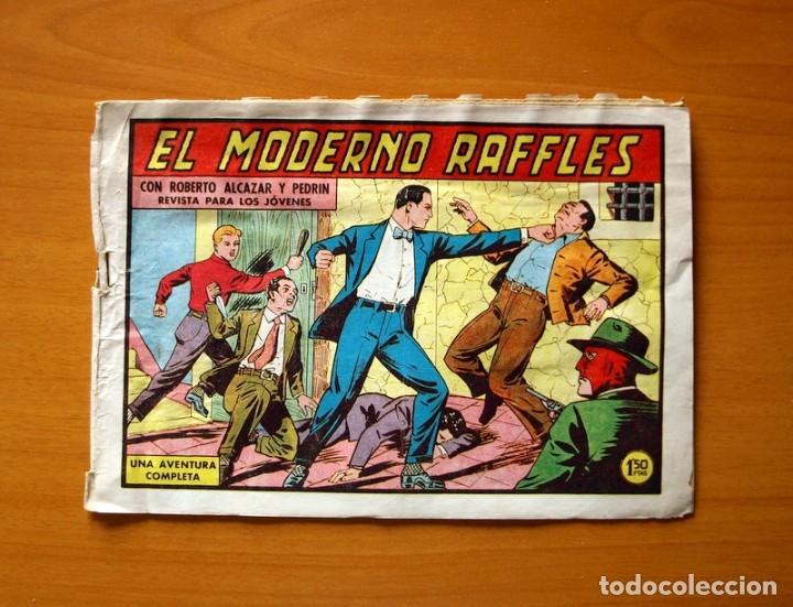 ROBERTO ALCÁZAR Y PEDRÍN - Nº 450, EL MODERNO RAFFLES - ORIGINAL EDITORIAL VALENCIANA (Tebeos y Comics - Valenciana - Roberto Alcázar y Pedrín)