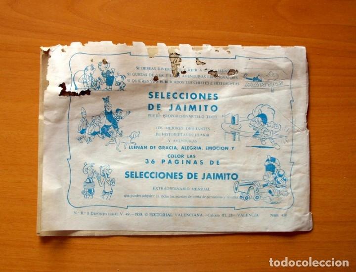 Tebeos: Roberto Alcázar y Pedrín - Nº 450, El moderno Raffles - Original Editorial Valenciana - Foto 6 - 182990896