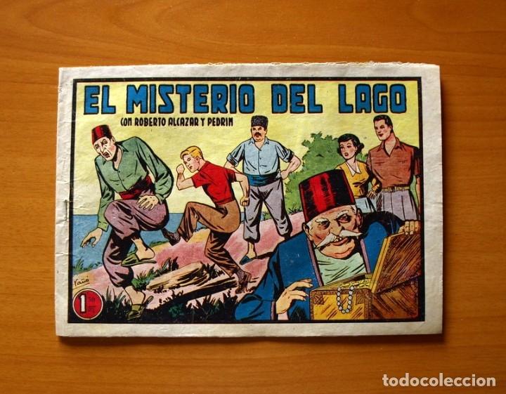 ROBERTO ALCÁZAR Y PEDRÍN - Nº 266, EL MISTERIO DEL LAGO - ORIGINAL EDITORIAL VALENCIANA (Tebeos y Comics - Valenciana - Roberto Alcázar y Pedrín)