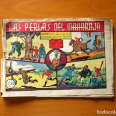 Tebeos: ROBERTO ALCÁZAR Y PEDRÍN - Nº 36, LAS PERLAS DEL MAHARAJA - ORIGINAL EDITORIAL VALENCIANA. Lote 182991613