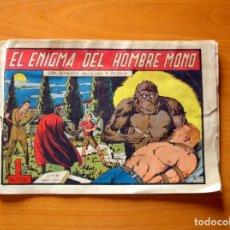 Tebeos: ROBERTO ALCÁZAR Y PEDRÍN - Nº 121, EL ENIGMA DEL HOMBRE MONO - ORIGINAL EDITORIAL VALENCIANA. Lote 182991748