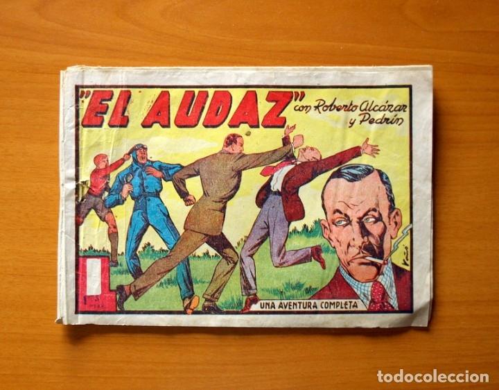 ROBERTO ALCÁZAR Y PEDRÍN - Nº 93, EL AUDAZ - ORIGINAL EDITORIAL VALENCIANA (Tebeos y Comics - Valenciana - Roberto Alcázar y Pedrín)