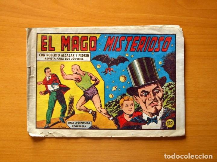 ROBERTO ALCÁZAR Y PEDRÍN - Nº 426, EL MAGO MISTERIOSO - ORIGINAL EDITORIAL VALENCIANA (Tebeos y Comics - Valenciana - Roberto Alcázar y Pedrín)