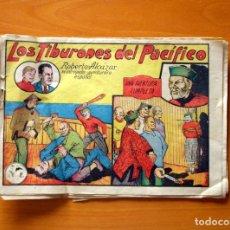 Tebeos: ROBERTO ALCÁZAR Y PEDRÍN - Nº 7, LOS TIBURONES DEL PACÍFICO - ORIGINAL EDITORIAL VALENCIANA. Lote 182993287