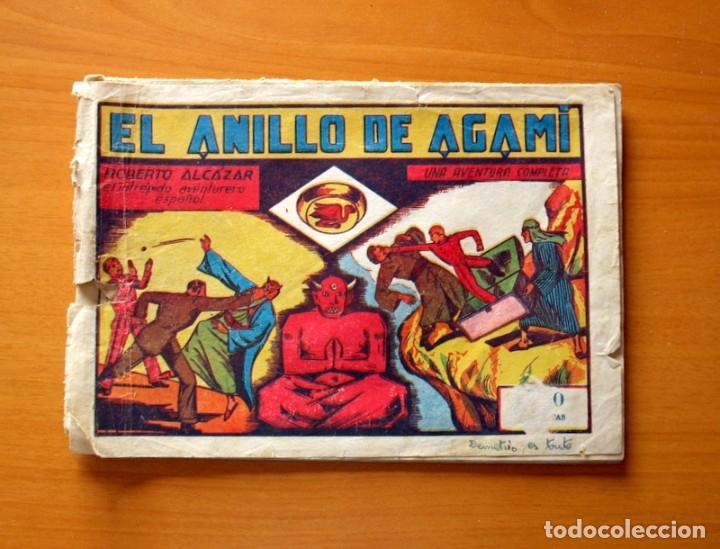 ROBERTO ALCÁZAR Y PEDRÍN - Nº 51, EL ANILLO DE AGAMI - ORIGINAL EDITORIAL VALENCIANA (Tebeos y Comics - Valenciana - Roberto Alcázar y Pedrín)