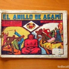 Tebeos: ROBERTO ALCÁZAR Y PEDRÍN - Nº 51, EL ANILLO DE AGAMI - ORIGINAL EDITORIAL VALENCIANA. Lote 182993998