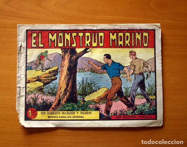 ROBERTO ALCÁZAR Y PEDRÍN - Nº 380, EL MONSTRUO MARINO - ORIGINAL EDITORIAL VALENCIANA (Tebeos y Comics - Valenciana - Roberto Alcázar y Pedrín)