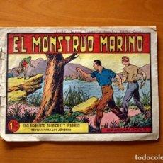 Tebeos: ROBERTO ALCÁZAR Y PEDRÍN - Nº 380, EL MONSTRUO MARINO - ORIGINAL EDITORIAL VALENCIANA. Lote 182994166