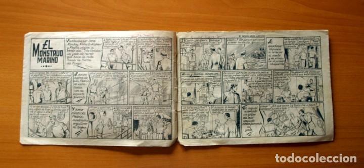 Tebeos: Roberto Alcázar y Pedrín - Nº 380, El Monstruo Marino - Original Editorial Valenciana - Foto 2 - 182994166