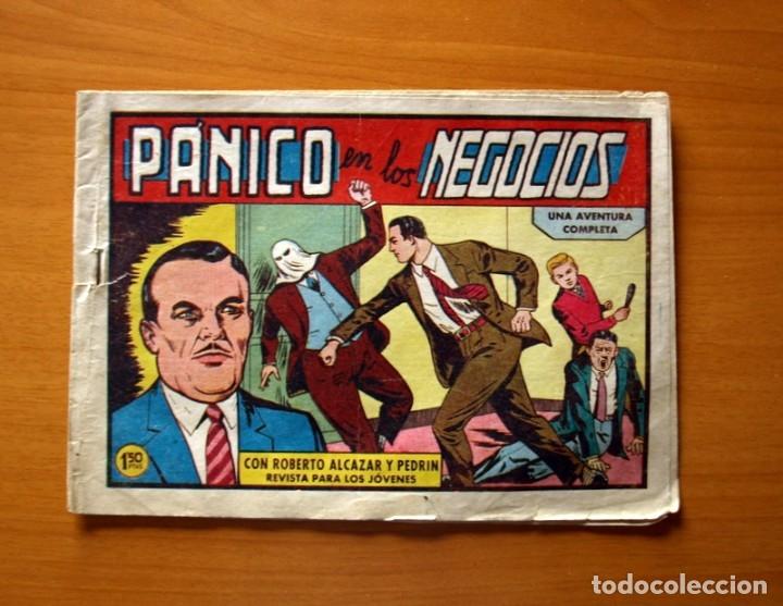 ROBERTO ALCÁZAR Y PEDRÍN - Nº 425, PÁNICO EN LOS NEGOCIOS - ORIGINAL EDITORIAL VALENCIANA (Tebeos y Comics - Valenciana - Roberto Alcázar y Pedrín)