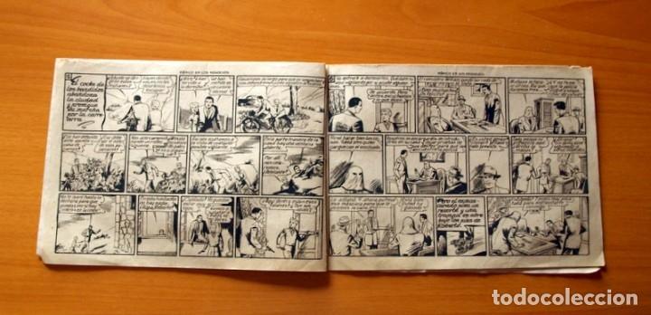 Tebeos: Roberto Alcázar y Pedrín - Nº 425, Pánico en los Negocios - Original Editorial Valenciana - Foto 3 - 182994331