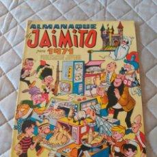Tebeos: JAIMITO ALMANAQUE 1972 EXCELENTE ESTADO. Lote 182997103