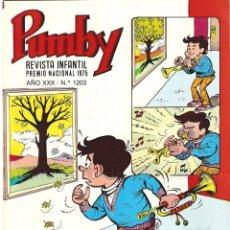 Tebeos: PUMBY 1203 EDITORIAL VALENCIANA AÑO XXX NUEVO 1987. Lote 183055698