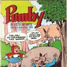 Tebeos: PUMBY 1204 EDITORIAL VALENCIANA AÑO XXX NUEVO 1987. Lote 183055778