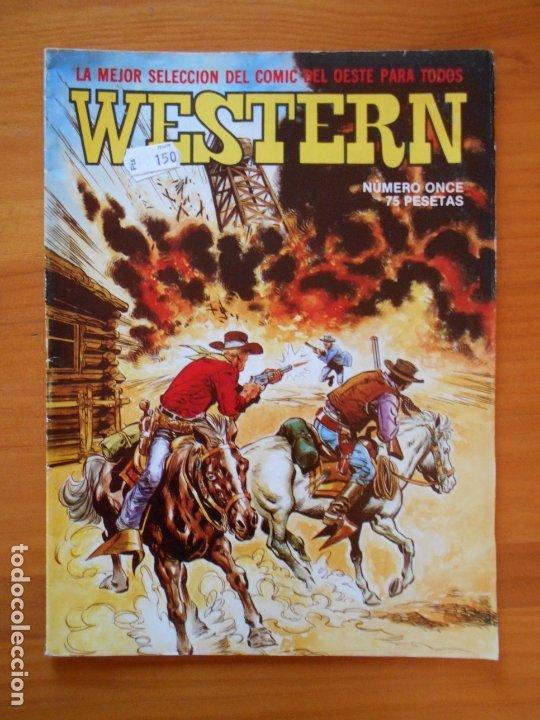 WESTERN Nº 11 - ONCE - LA MEJOR SELECCION DEL COMIC DEL OESTE PARA TODOS (AN) (Tebeos y Comics - Valenciana - Otros)