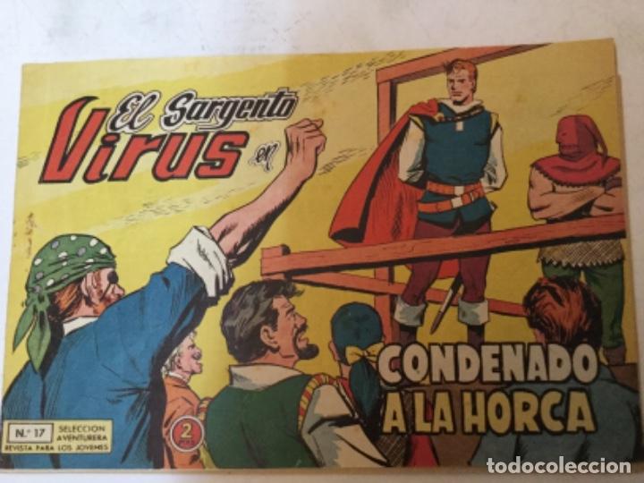 EL SARGENTO VIRUS- NUM. 17 (Tebeos y Comics - Valenciana - Otros)